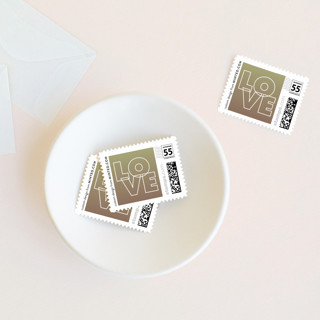 Charge Ahead Wedding Stamps