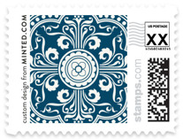 Ornamental Wedding Stamps