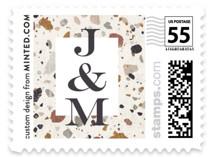Terrazzo Wedding Stamps