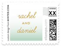 Simple Knot Wedding Stamps