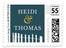 Beachside Wedding Stamps