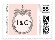 Framed Union Wedding Stamps