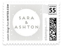 Supernova Wedding Stamps
