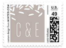 Rice Toss Wedding Stamps
