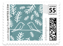 Birds of a Feather Wedding Stamps