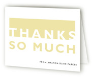 Bold Cut Sweet Sixteen Party Thank You Cards