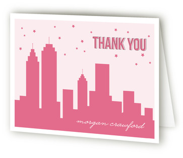 16 in the City Sweet Sixteen Party Thank You Cards