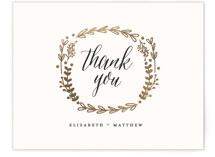 Always Foil-Pressed Thank You Card