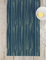 Brushed Lines Table runners