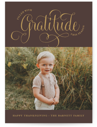 Much Gratitude Thanksgiving Cards
