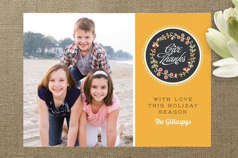 Thankfulness Thanksgiving Cards