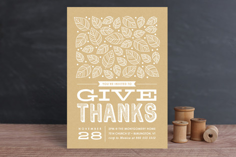 Give Thanks Thanksgiving Cards
