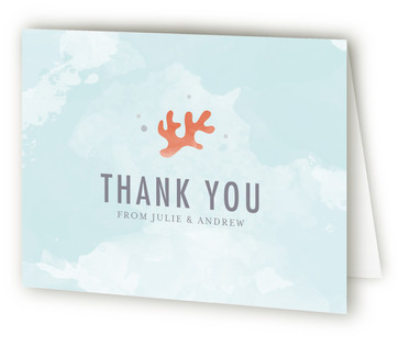 The Shore Thank You Cards
