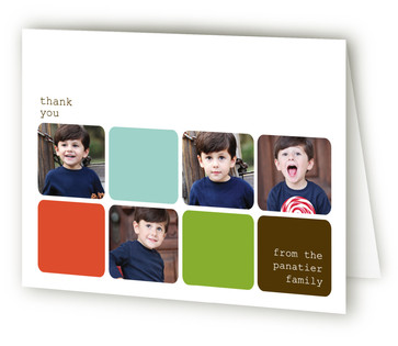 Modern Family Thank You Cards