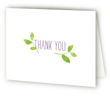 Sweet Garden Thank You Cards