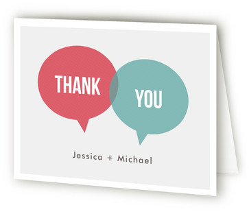 In Unison Thank You Cards