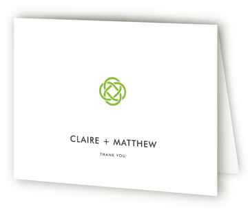 Celtic Eternity Thank You Cards