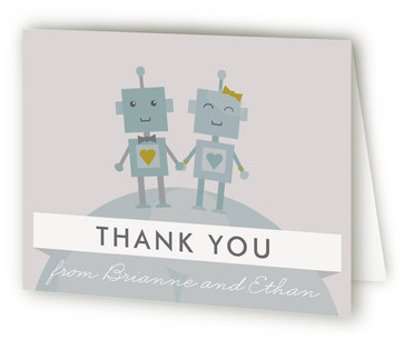 Infinity & Beyond Thank You Cards