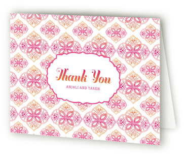 Mod Mehndi Thank You Cards