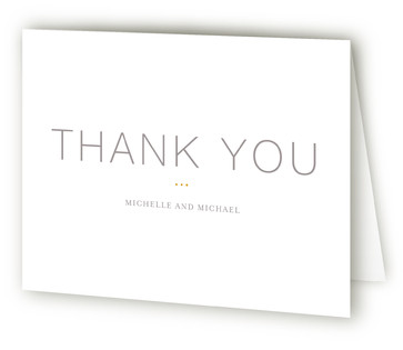 Baseline Thank You Cards