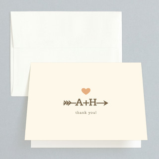 Love Struck Thank You Cards