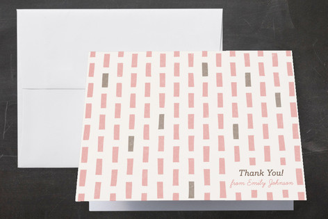 The Blocks of Color Thank You Cards