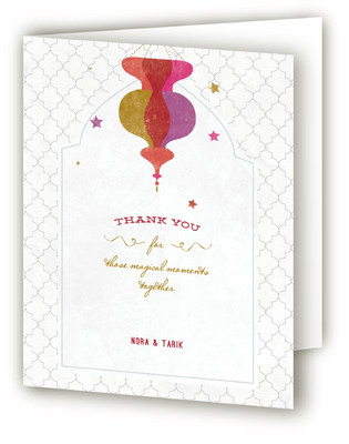 A Wedding in Marrakesh Thank You Cards