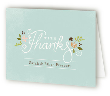 A More Perfect Union Thank You Cards