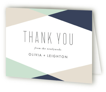 Minimal Mod Thank You Cards