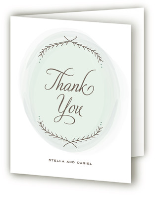 Romantic Whisper Thank You Cards