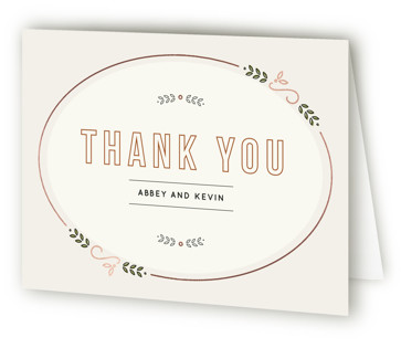 The Union Thank You Cards