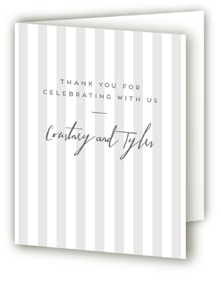 Top Hat Thank You Cards