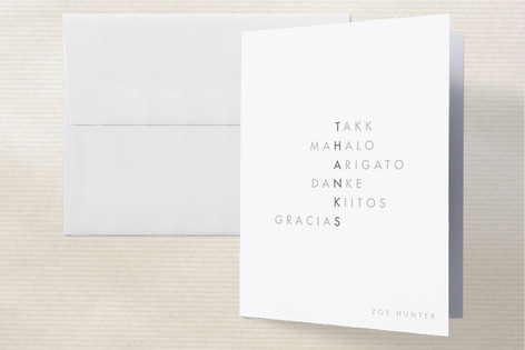 Translate Thank You Cards