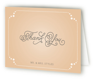 Vintage Tray Thank You Cards