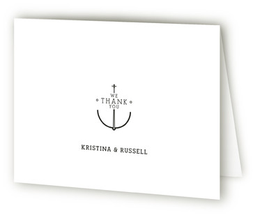 Established Union Thank You Cards
