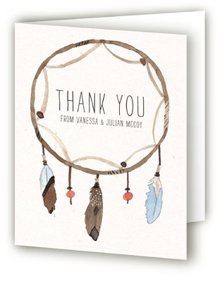 Dream Catcher Thank You Cards