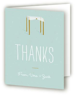 Chuppah Thank You Cards