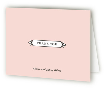 Classic Glam Thank You Cards