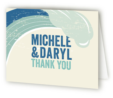 Taking The Plunge Thank You Cards