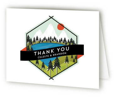 Merit Badge Thank You Cards