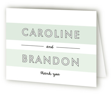 Read Between the Lines Thank You Cards
