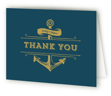 Anchored Thank You Cards