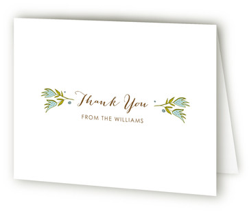 The Whimsical Outdoors Thank You Cards