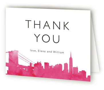 Skyline-New York Thank You Cards