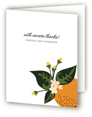Citrus Crush Thank You Cards