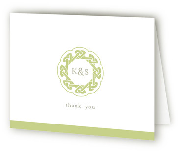 Modern Celtic Knot Thank You Cards