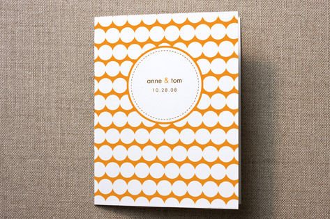 Modern Dots Thank You Cards