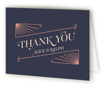 The Honeymooners Thank You Cards