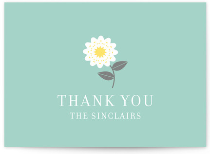 Soiree Thank You Cards
