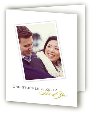 Sealed with a Kiss Thank You Cards
